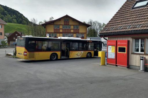 Umsteigen in Gais 1. Foto: Nikolaus Vogl