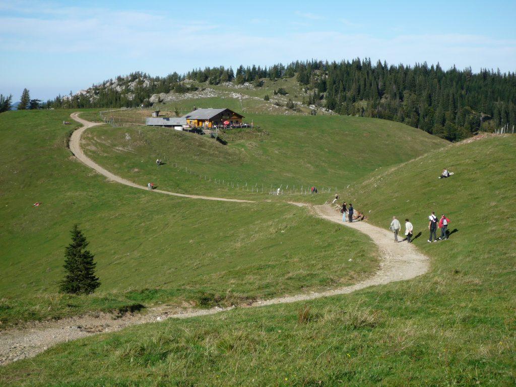 Zwischen Edelweisshütte und Almreserlhaus. Foto: Alpenverein Edelweiss