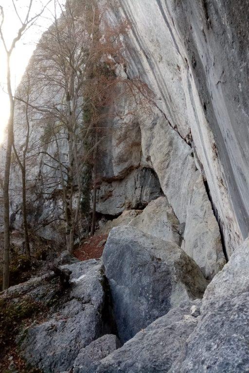 Kletterfelsen und Felsenlabyrinth. Fotos Rosemarie Molander