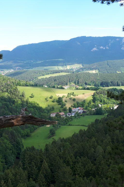 Blick von Schrattenstein. Foto: Gerold Petritsch