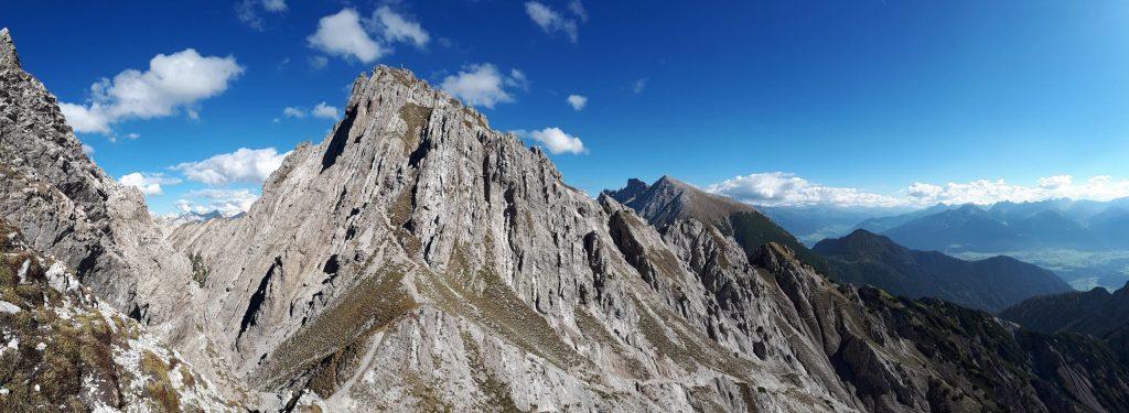 Aufstieg zur Kuhljochspitze 2297 Meter. Foto: Konrad Gwiggner