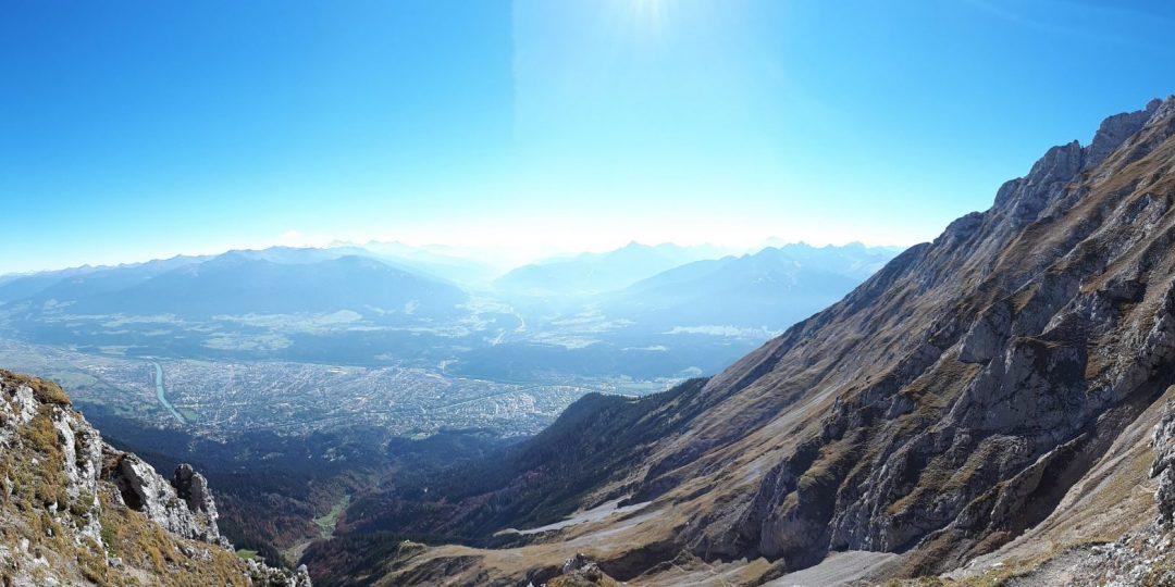 Blick auf Innsbruck und Umgebung. Foto: Konrad Gwiggner