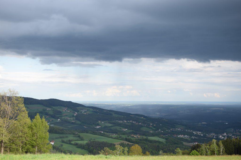 Blick von Rabenwald Richtung Südosten, Foto: Lisa Habersack