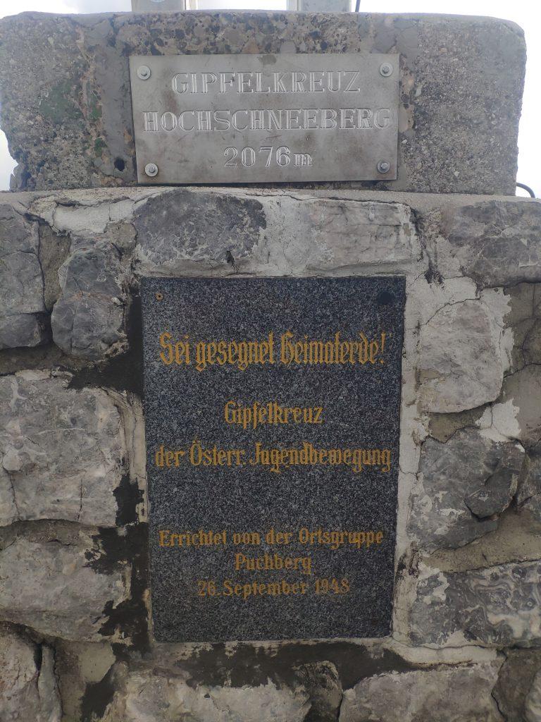 Am Hochschneeberg