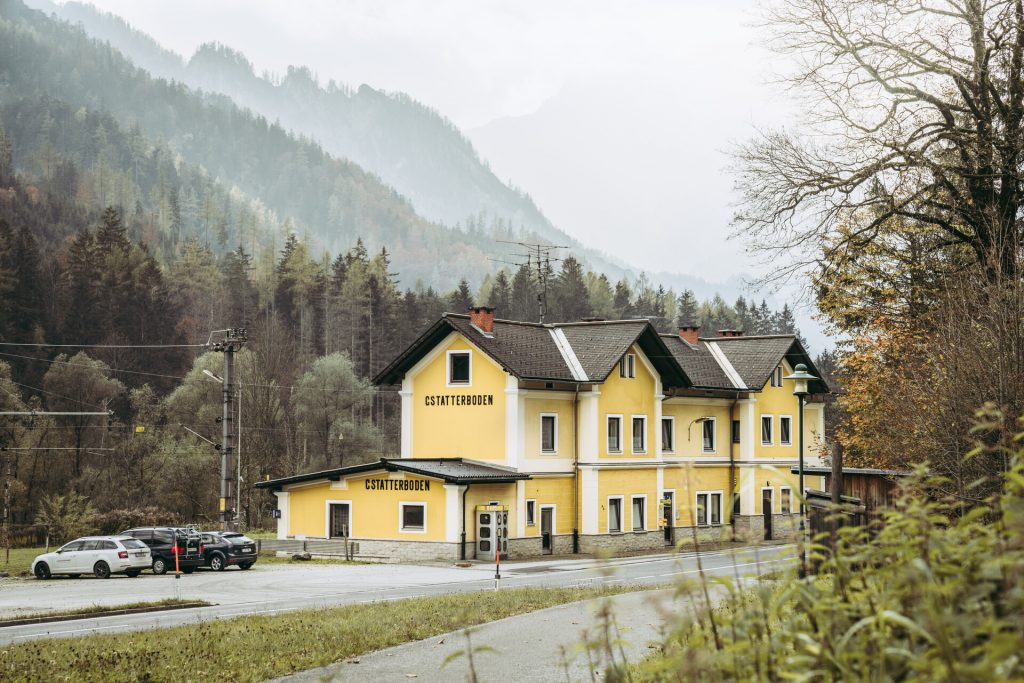 Bahnhof Gstatterboden. Foto: Max Mauthner