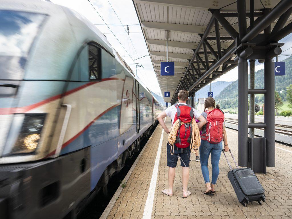 Bahnhof Mallnitz. Foto © Dieter Denger