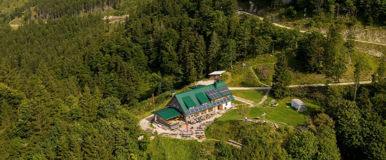 Ennser Hütte. Foto: Sevn Posch/Naturfreunde Österreich