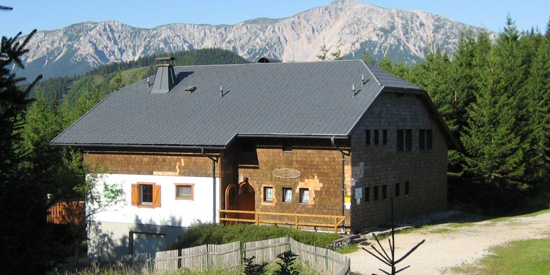 Öhlerschutzhaus. Foto: Naturfreunde Österreich