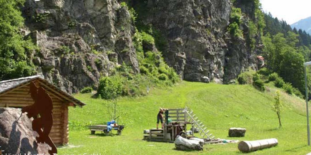 Klettergarten Rifa. Foto: Österreichischer Alpenverein - ÖAV
