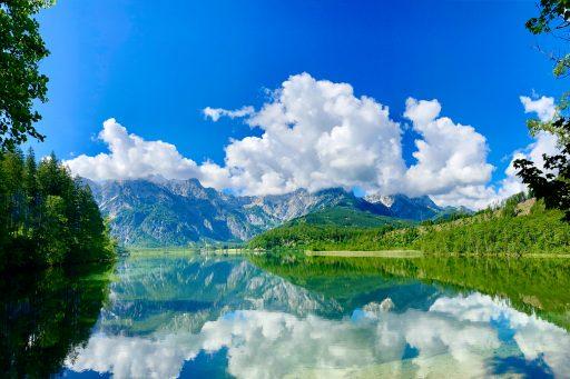 Der Almsee. Ein sehr beliebtes Fotomotiv. Foto: Stefan Hochhold