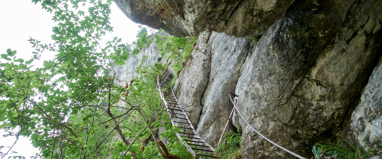 Klettersteig Alpenvereinssteig auf die Rax. Foto: Martin Heppner