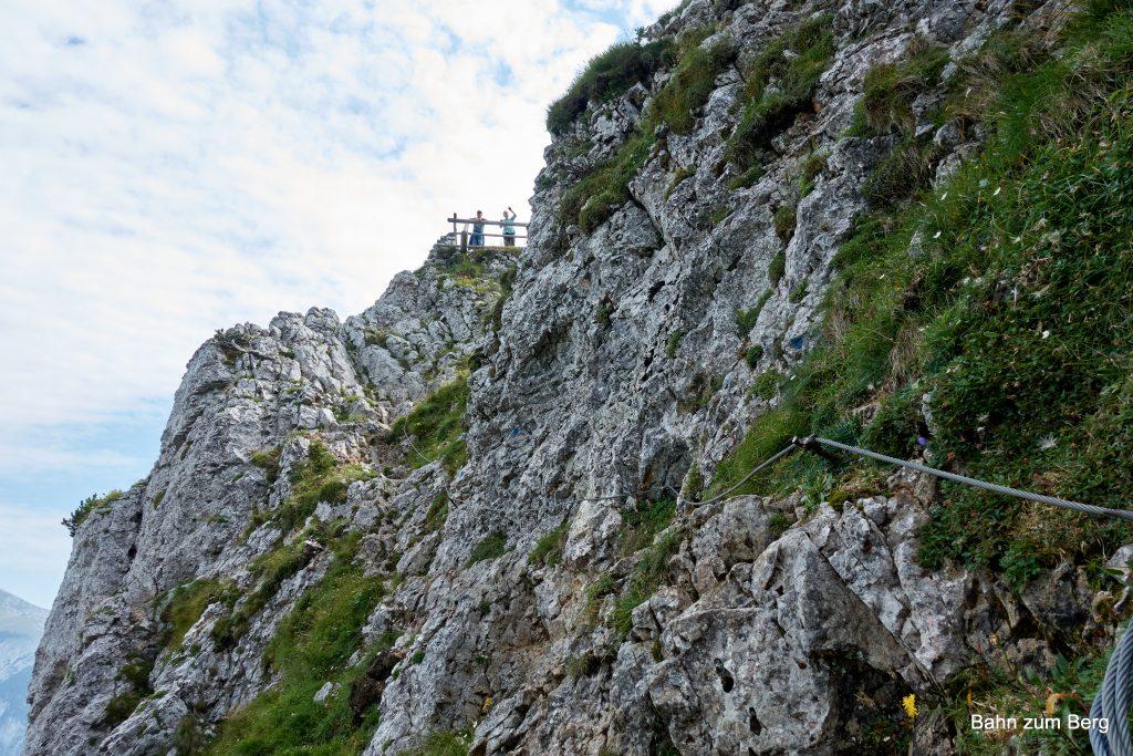 Ausstieg Höllentalaussicht. Foto: Martin Heppner