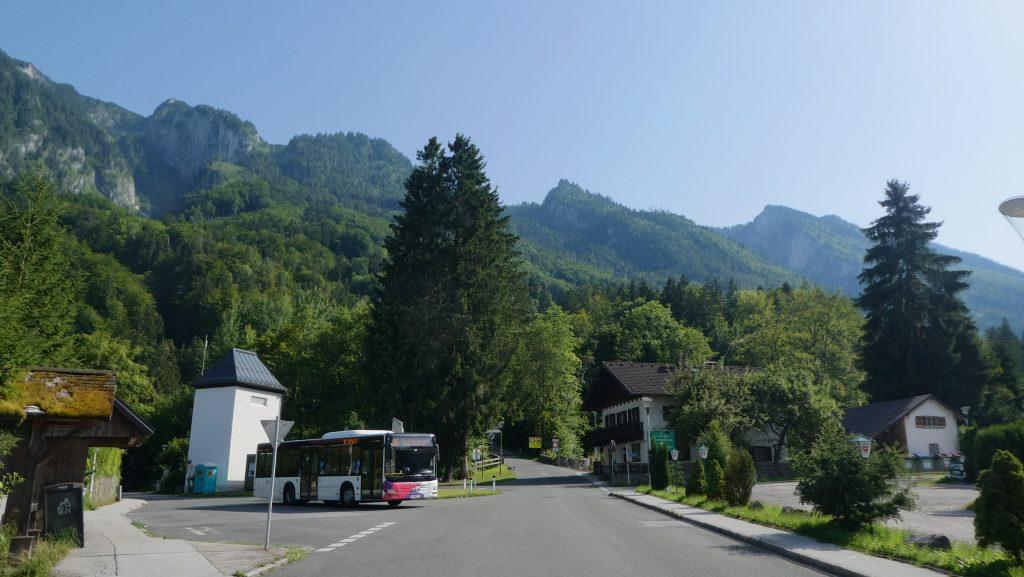Die Buskehre in Fürstenbrunn. Foto: Karl Plohovich