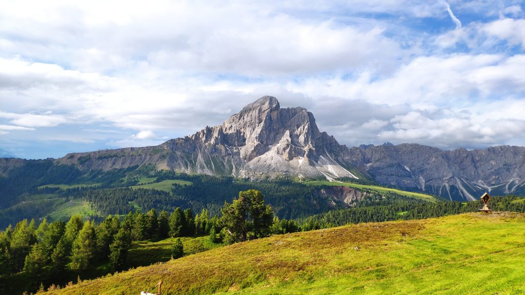Blick von der Maurerberghütte. Foto Birgit Matzinger