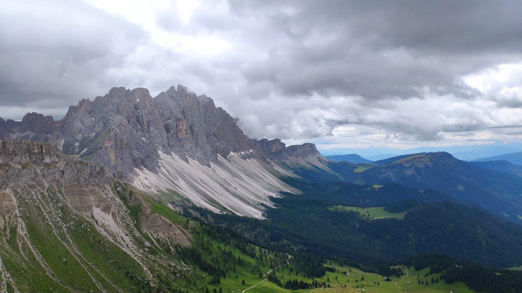Blick von der Schlüterhütte. Foto Birgit Matzinger