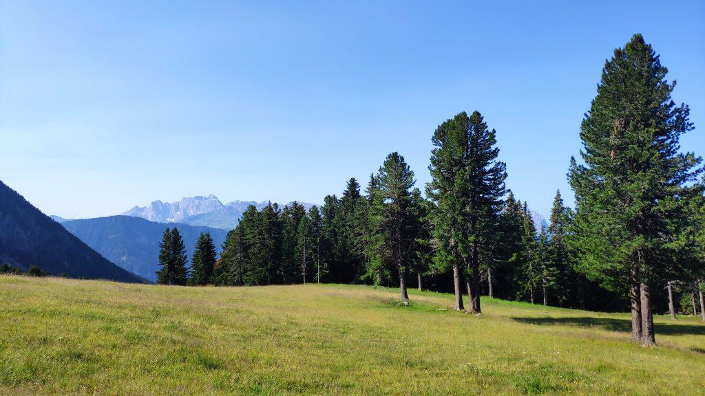 Panorama beim Abstieg nach Klausen. Foto Birgit Matzinger