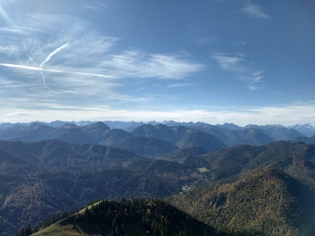 Blick vom Gipfel nach Süden. Foto: Nikolaus Vogl