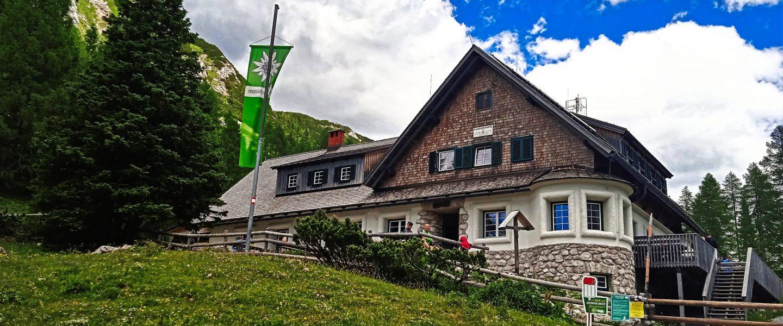 Klagenfurter Hütte. Foto: Birgit Frank