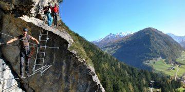 Peter Kofler Klettersteig im Wipptal