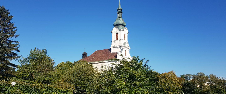 Kaasgrabenkirche. Foto: Regina Hrbek/Naturfreunde