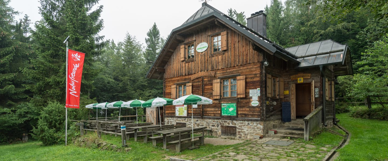 Gföhlberghütte. Foto: Alfred Leitgeb/Naturfreunde
