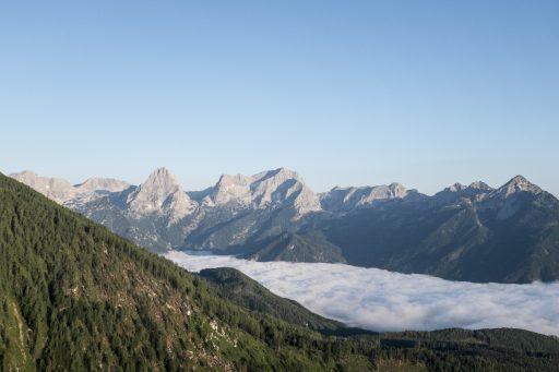 Bergkulisse von der Zellerhütte. Foto: Birgit Reiter