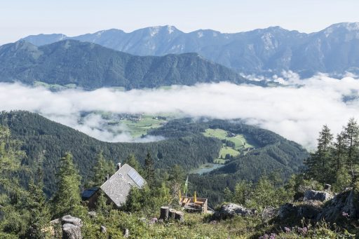 Wolken unten in Vorderstoder. Foto: Birgit Reiter