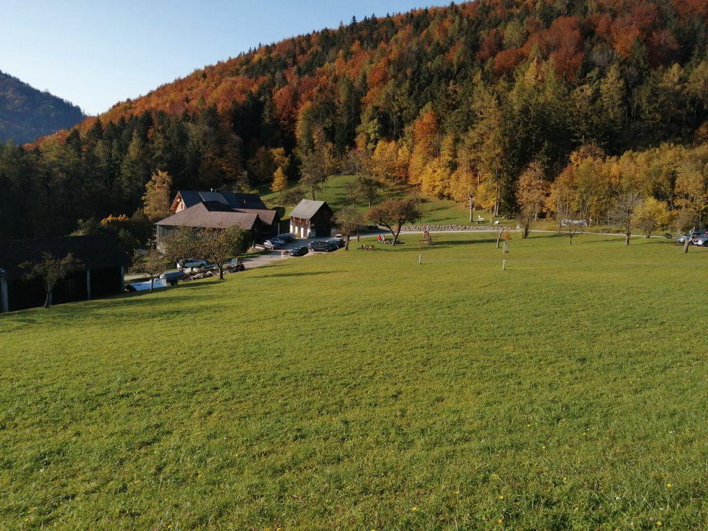 Blick auf das Gasthaus Untergrasberg. Foto: Jürgen Birgl