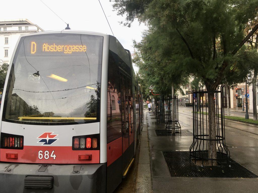 Der D-Wagen bringt mich zurück in die Stadt. Foto Veronika Schöll