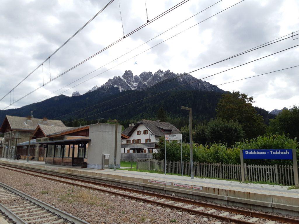 Zielbahnhof Toblach, und von dort gleich in Richtung Süden. Foto: Konrad Gwiggner