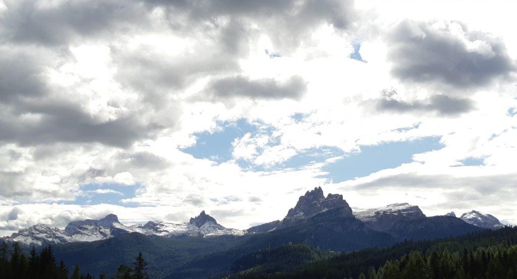Vor den Toren von Cortina d'Ampezzo. Foto: Konrad Gwiggner