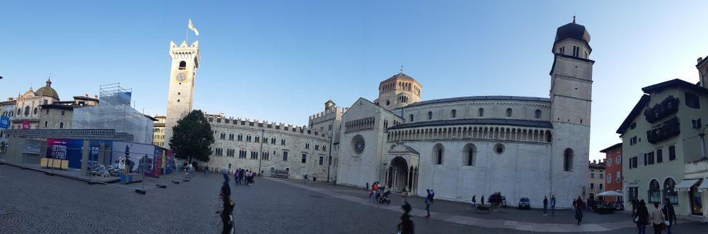 Piazza Duomo in Trient. Foto: Konrad Gwiggner