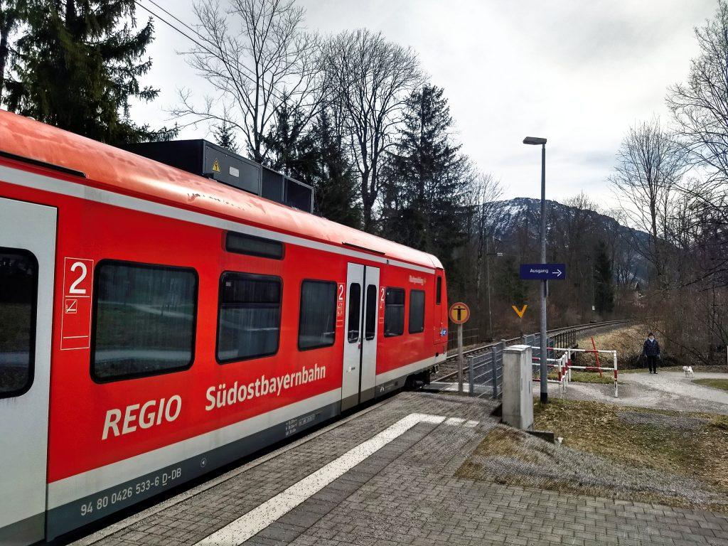 Bequeme Abreise mit den Zügen der Südostbayernbahn. Foto: Nikolaus Vogl