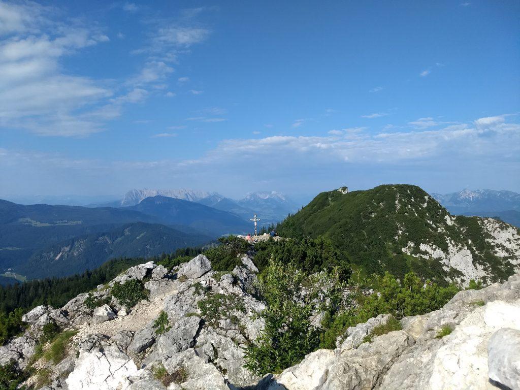 Vom Gipfel Richtung Kaisergebirge. Foto: Nikolaus Vogl