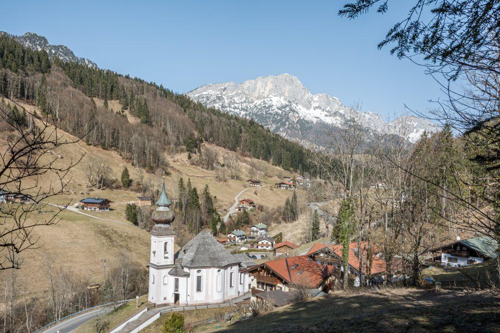 Kirche Maria-Gern, Untersberg. Foto Alpine Pearls