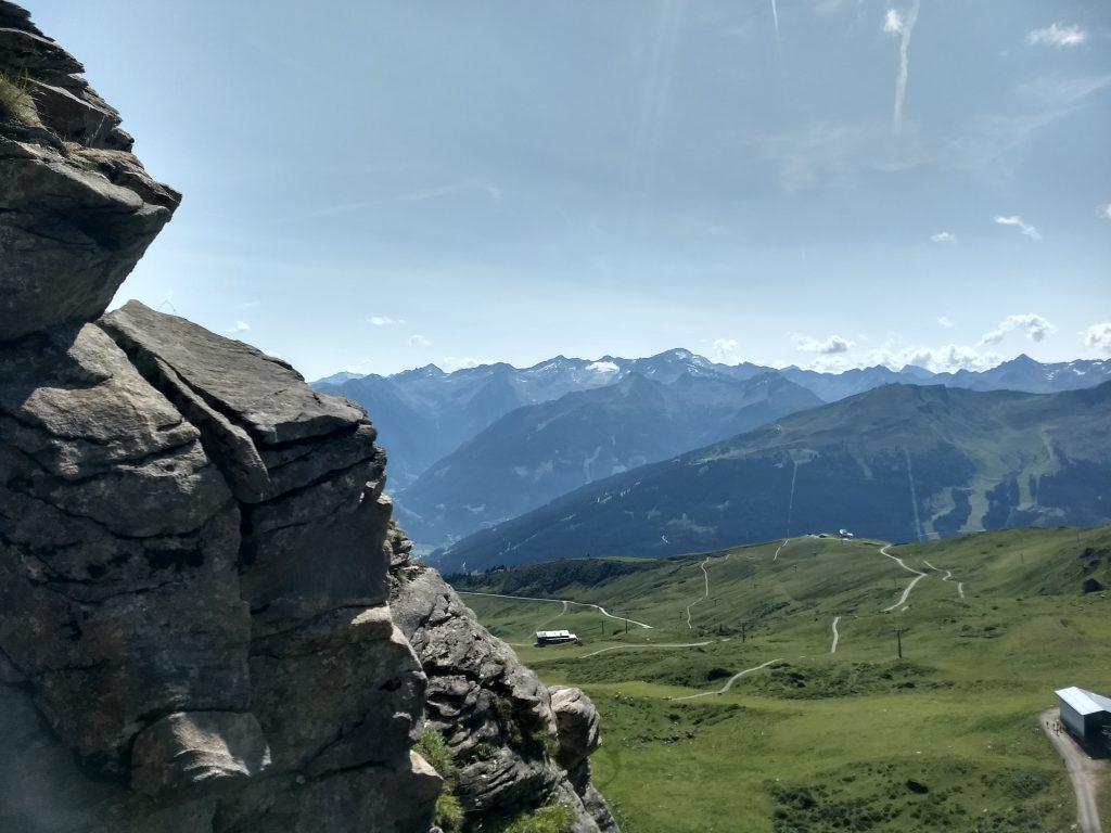 Im Klettersteig Weitmooser. Foto: Nikolaus Vogl