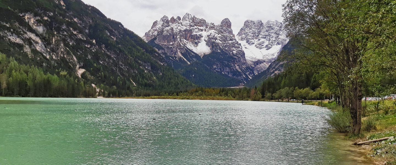 Blick aufs Monte Cristallo Massiv. Foto: Konrad Gwiggner