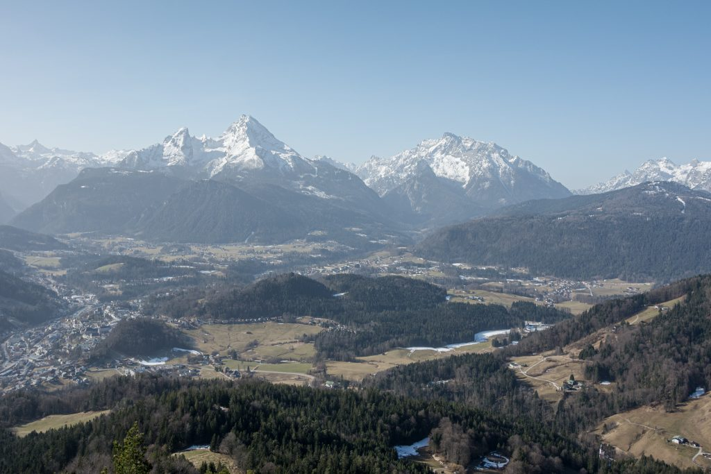 Watzmannblick vom Gipfelkreuz. Foto Alpine Pearls