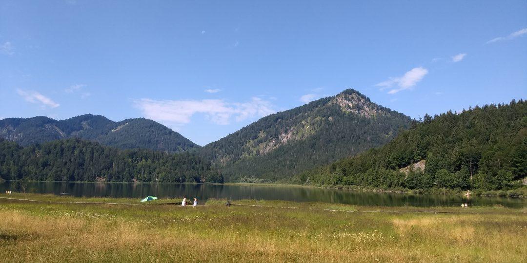 Im Drei-Seen-Gebiet. Foto: Nikolaus Vogl