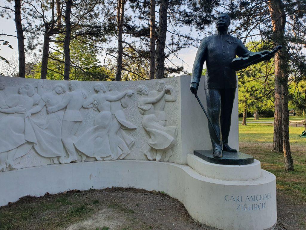 Denkmal von Carl Michael Ziehrer. Foto: Christoph Hammerl
