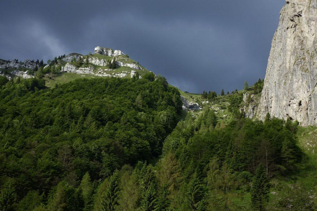 Belluneser Dolomiten Pala de l Fagher. Foto: Peter Backé