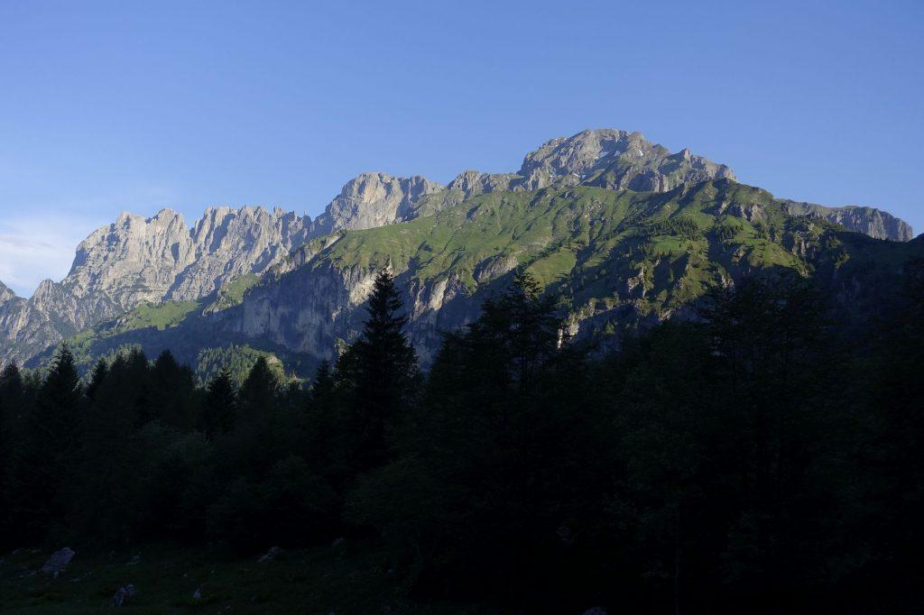 Belluneser Dolomiten Schiaragruppe. Foto: Peter Backé