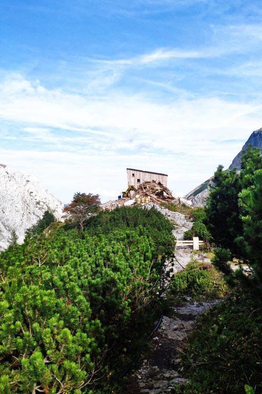 Die neue Voisthalerhütte 1. Foto: Birgit Matzinger