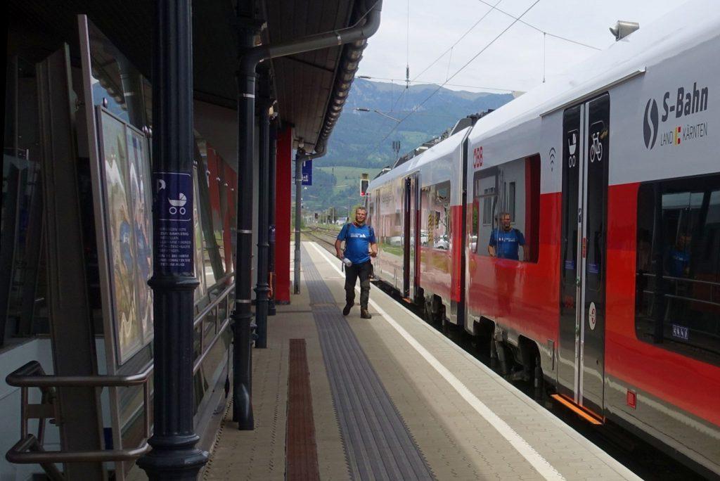 Bahnhof Friesach. Foto: Peter Backé