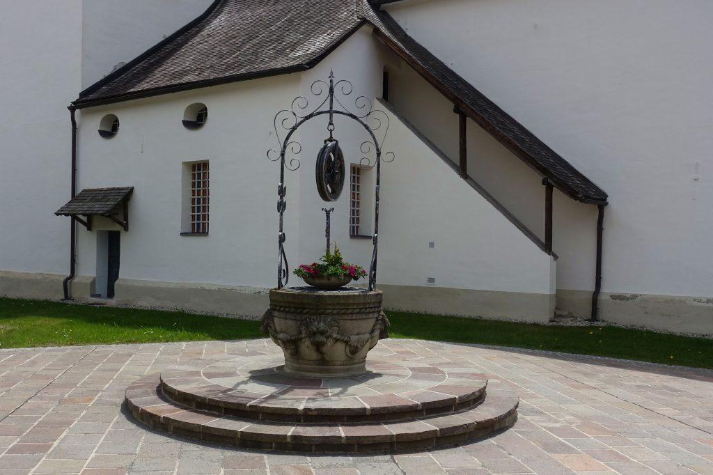 Kirche Sankt Salvator. Foto: Peter Backé