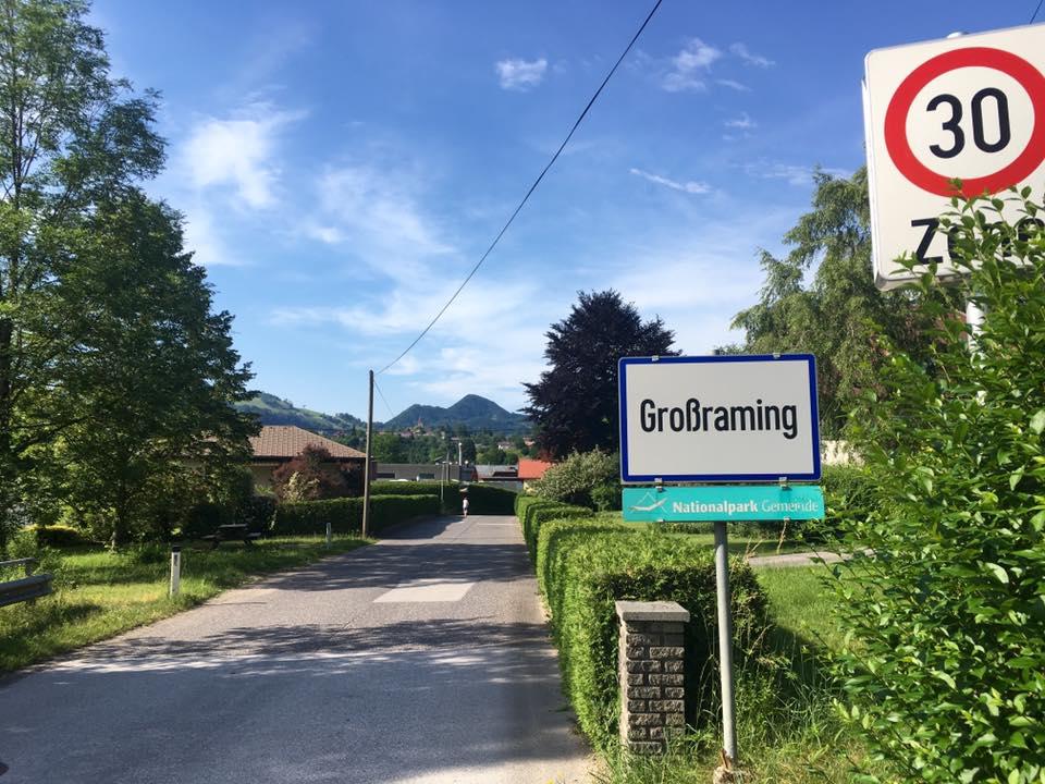 Über den Lumplgraben nach Großraming. Foto Veronika Schöll