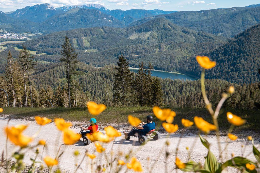Der Naturpark Ötscher-Tormäuer beeindruckt durch herrliche Naturlandschaften: Foto weinfranz
