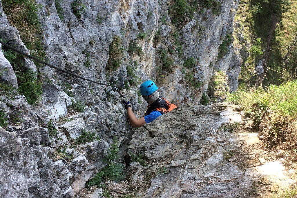 Pittentaler Klettersteig. Foto: Martin Heppner