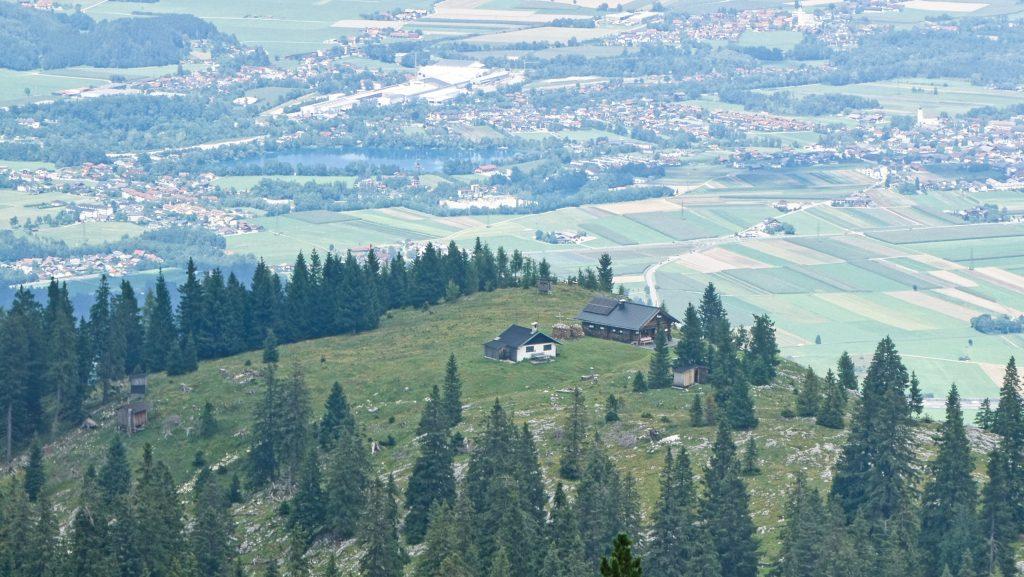 Aussichtsbalkon Klingeralm. Foto: Karl Plohovich