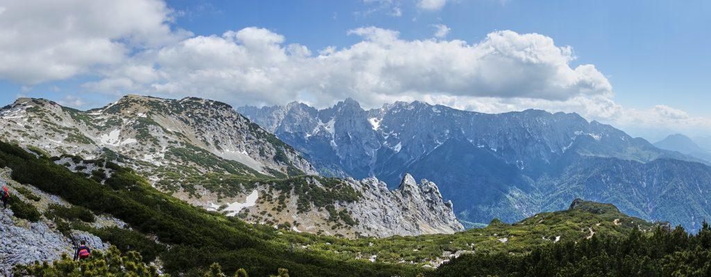 Panorama Kaisergebirge. Foto: Martin Heppner